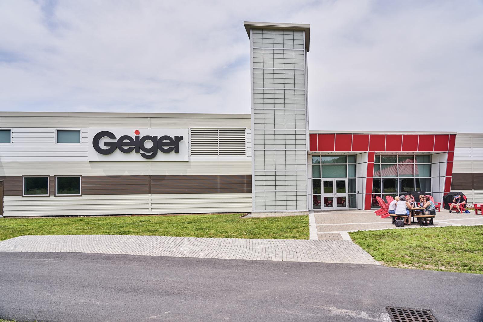 Geiger building exterior